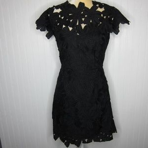 Dolce Vita Jayleen Laser Cut Dress Size S